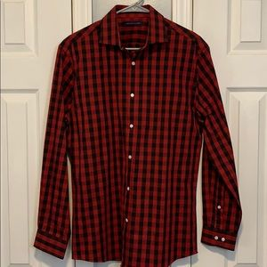 Tommy Hilfiger buffalo check button down shirt